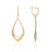 14K Fashion Dangle Earrings 2