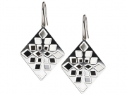 Diamond Mirror Earrings 2