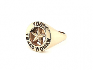 100% Texas Woman Ring
