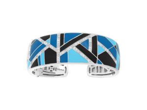 Delano Blue & Black Bangle