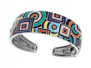Geometrica Multi-Color Bangle
