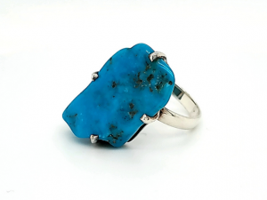 SS Arizona Turquoise Ring