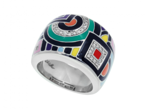 Geometrica Multi-Color Ring