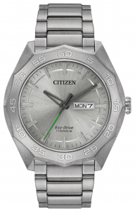Brycen Titanium Eco-Drive Watch