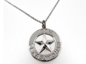 100% Texas Woman Pendants