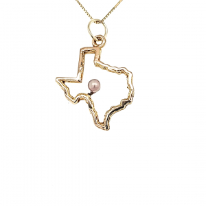 Texas Outline Pendant