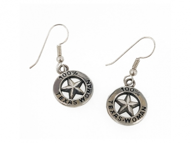 100% Texas Woman Earrings 1