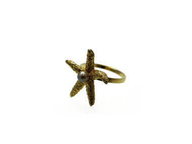 14K Starfish Ring 1