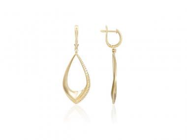 14K Fashion Dangle Earrings 1