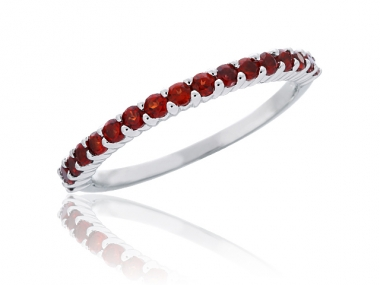 10K Birthstone Stackable Rings 1
