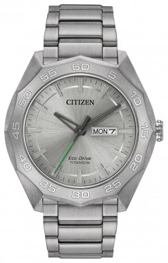 Brycen Titanium Eco-Drive Watch 1