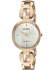 "Citizen ""L"" Collection Rose Tone Eco-Drive 1"